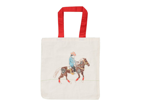 Galloping Horse Hand Drawn Bag