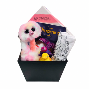 Baby Girl - Gift Basket
