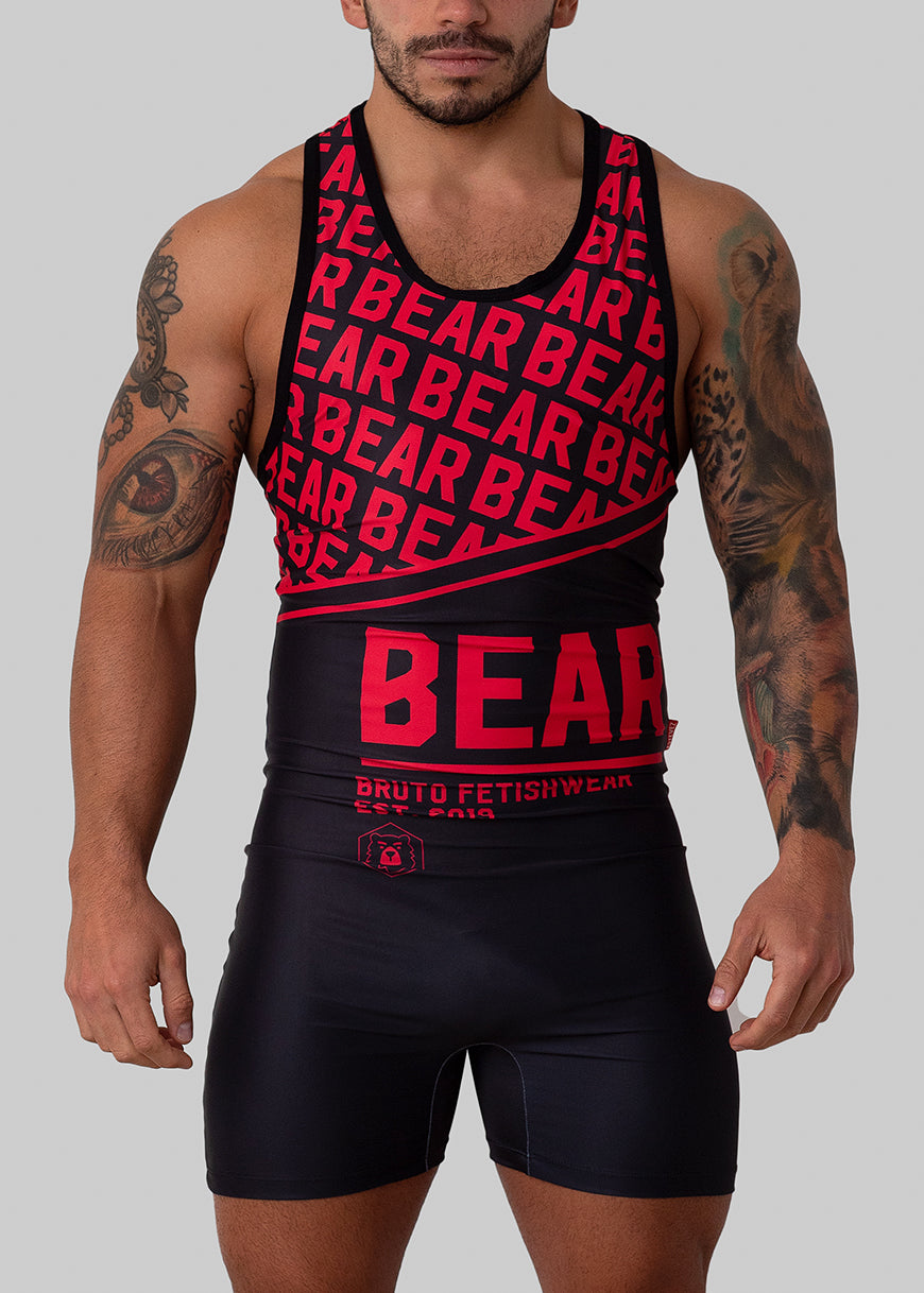 NEW! PREORDER - BEAR 21 SINGLET