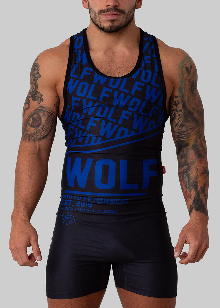 NEW! PREORDER - WOLF 21 SINGLET