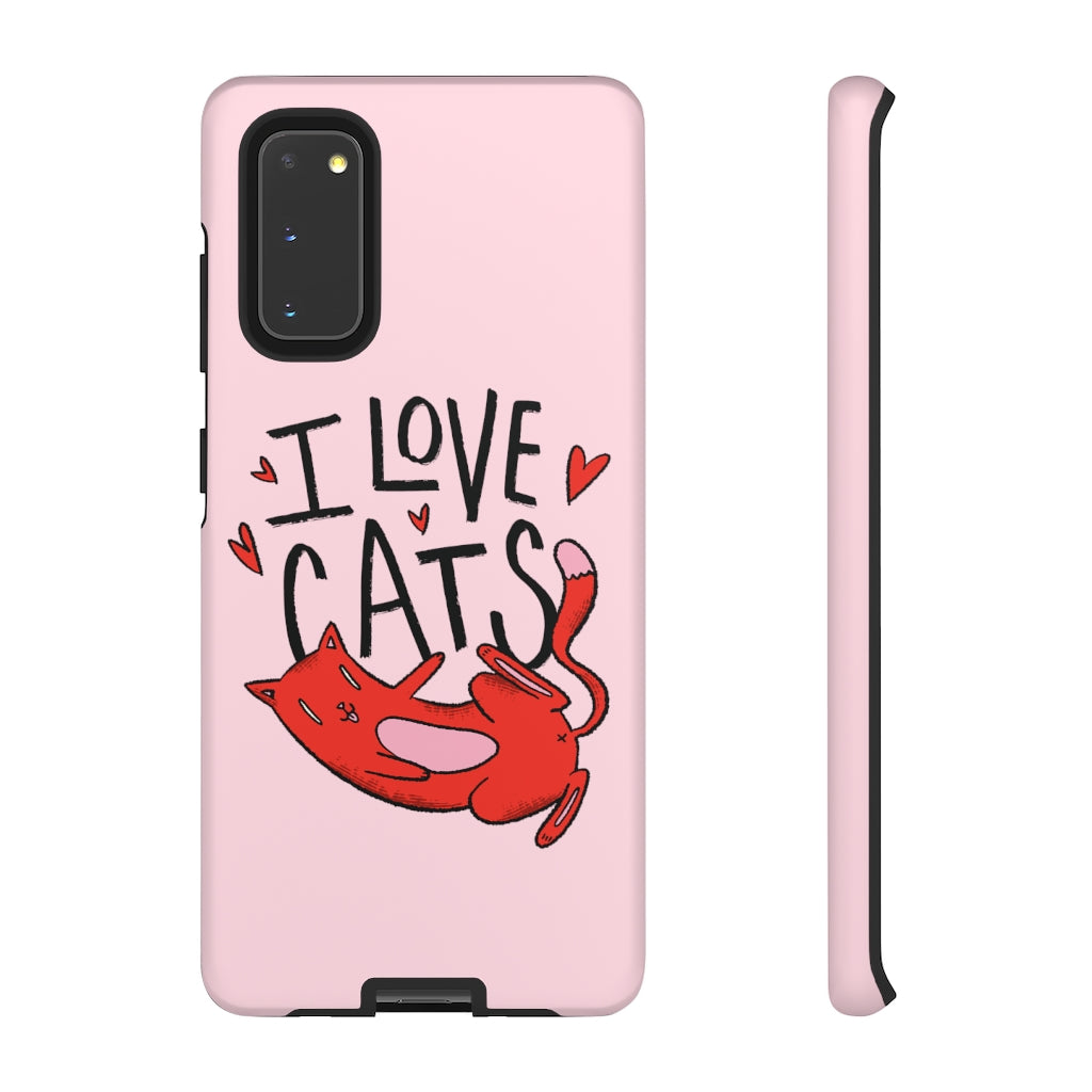 I Love Cats - Soft Pink