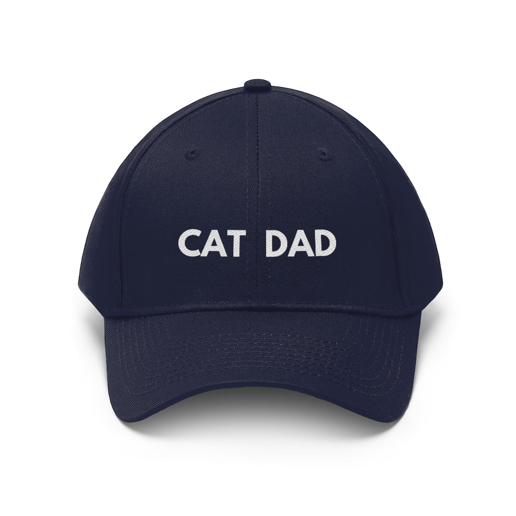 Cat Dad Hat - Happy Meow Meow