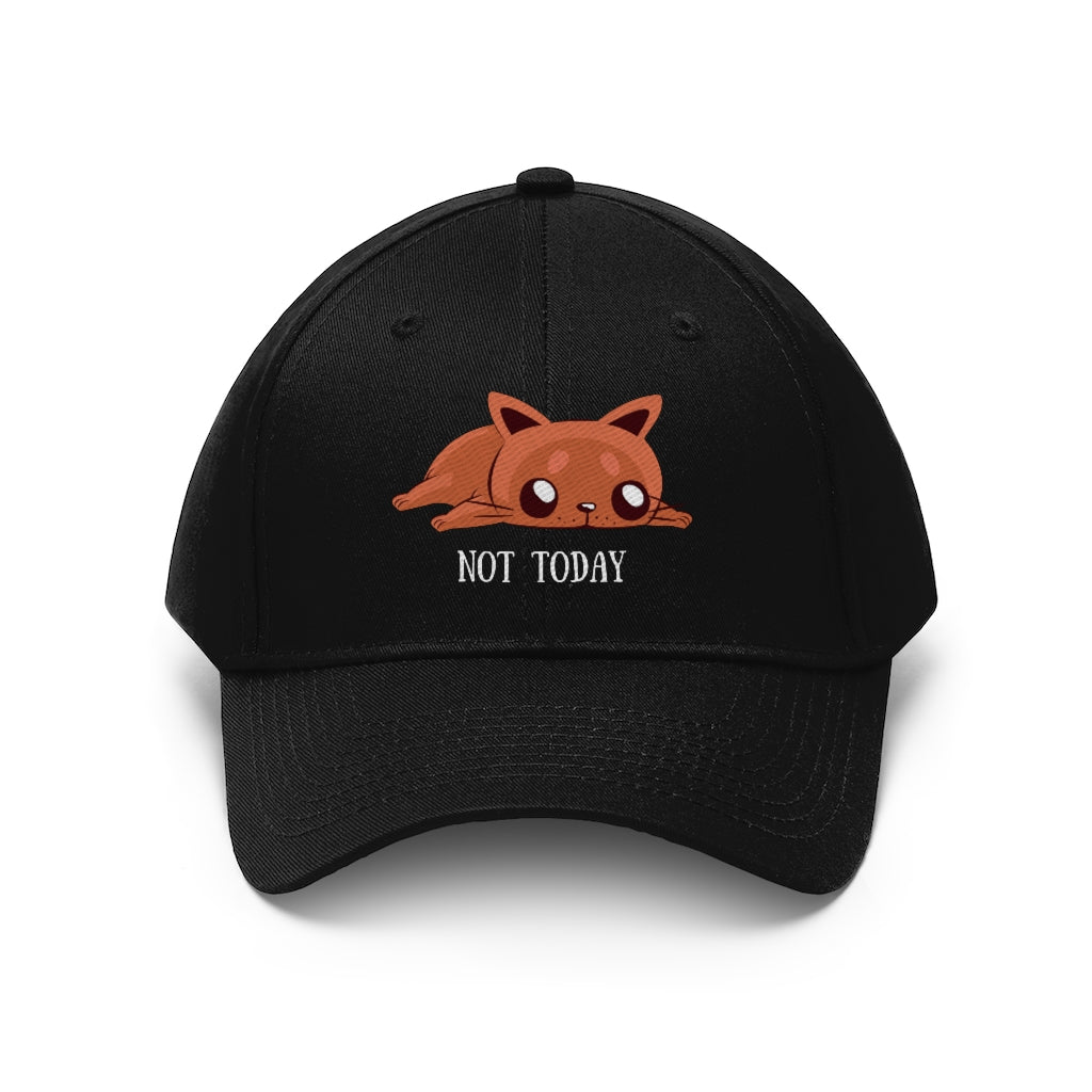 Not Today Hat - Happy Meow Meow