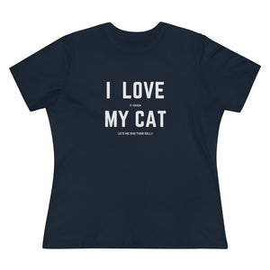 I Love My Cat T-Shirt - Happy Meow Meow