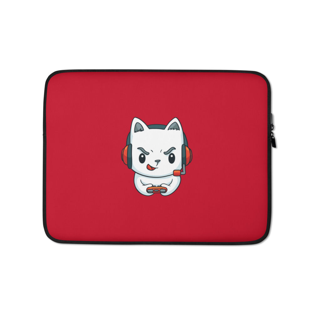 Gamer Meow Meow Laptop Sleeve - Happy Meow Meow