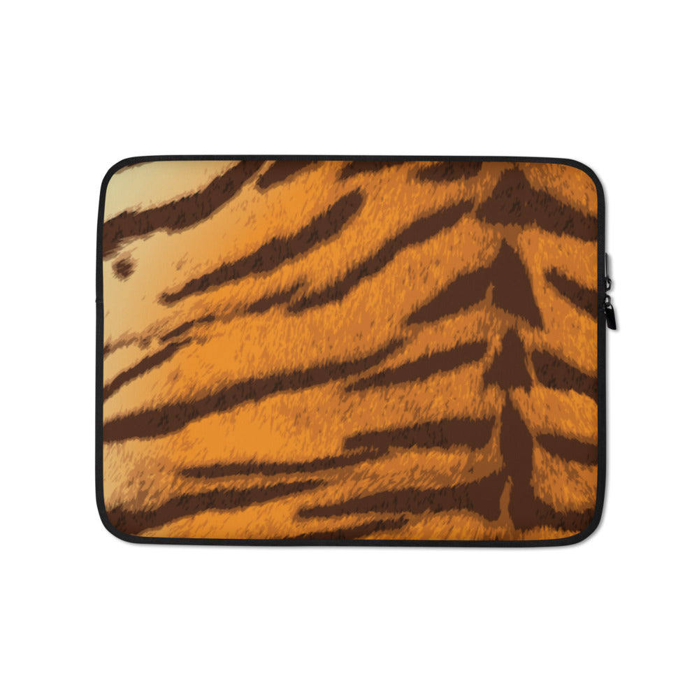 Tiger Laptop Sleeve - Happy Meow Meow