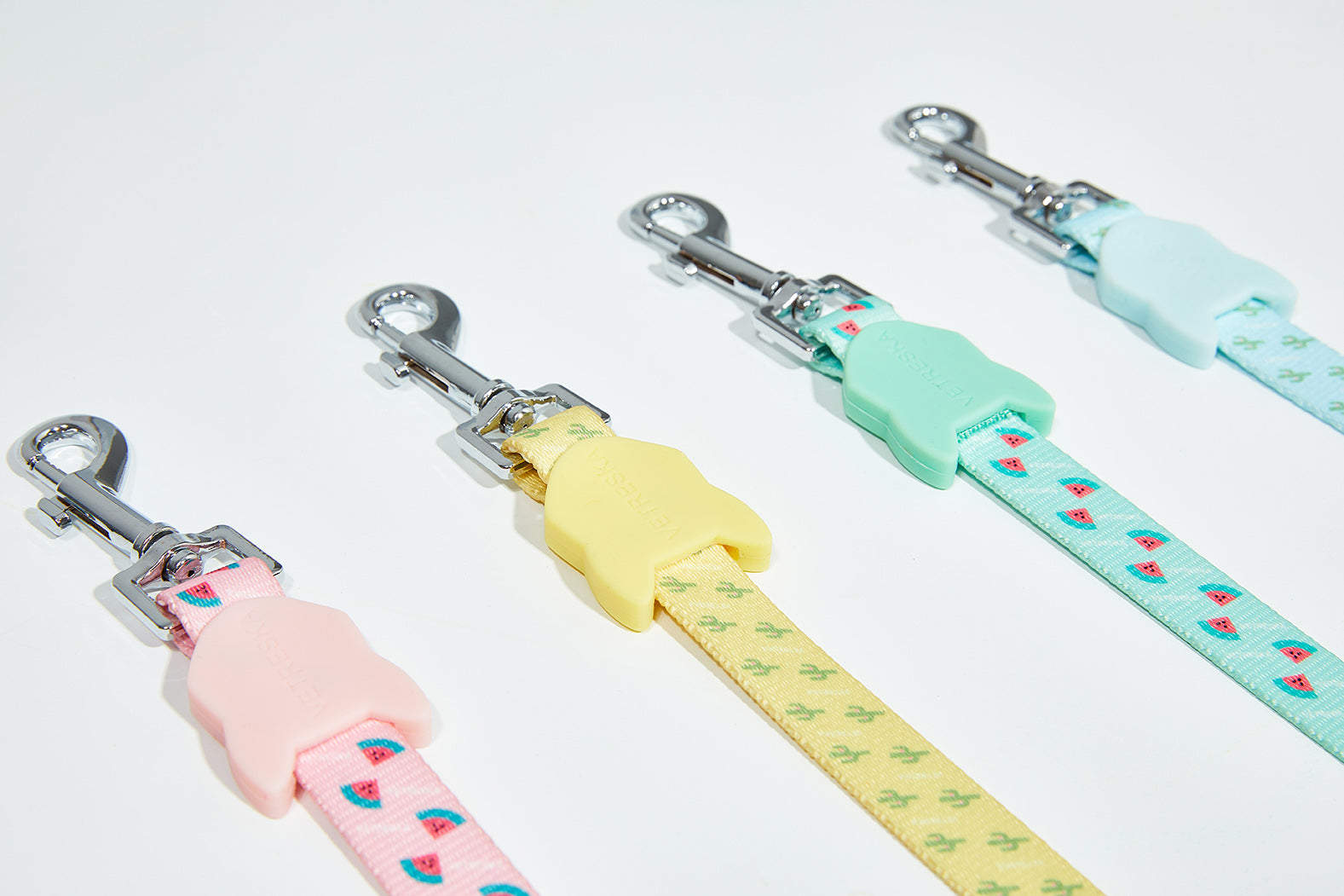 Tropical Dog Collar & Leash Set