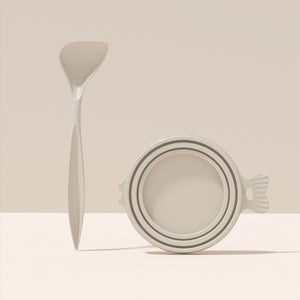 Open image in slideshow, Bubble Fish Can Lid & Spoon Set