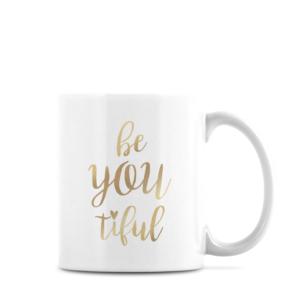 Be You Mug Gold