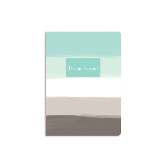 Blue Ombre Notebook Aqua Box