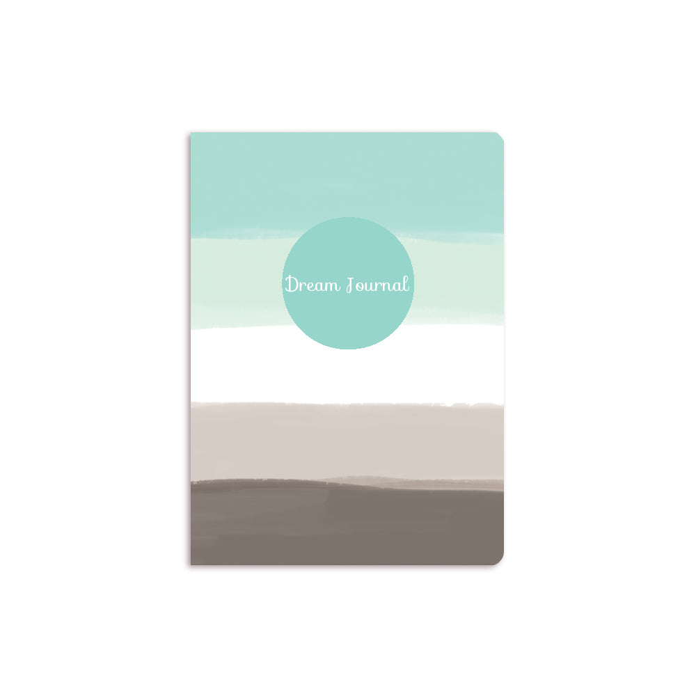 Blue Ombre Notebook Aqua Circle