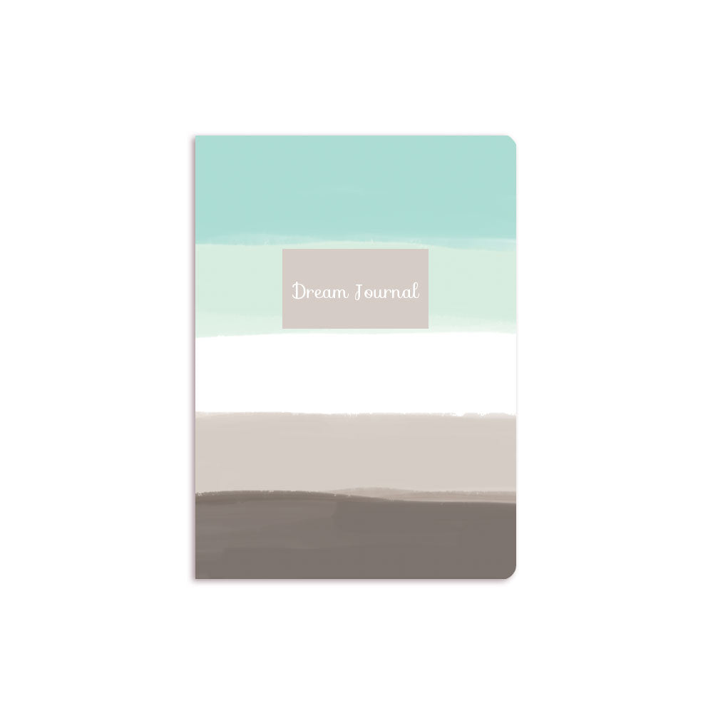 Blue Ombre Notebook Grey Box