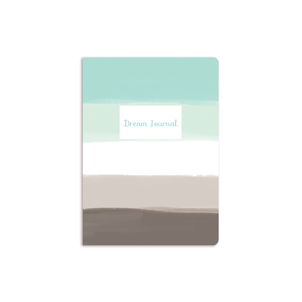 Blue Ombre Notebook White Box