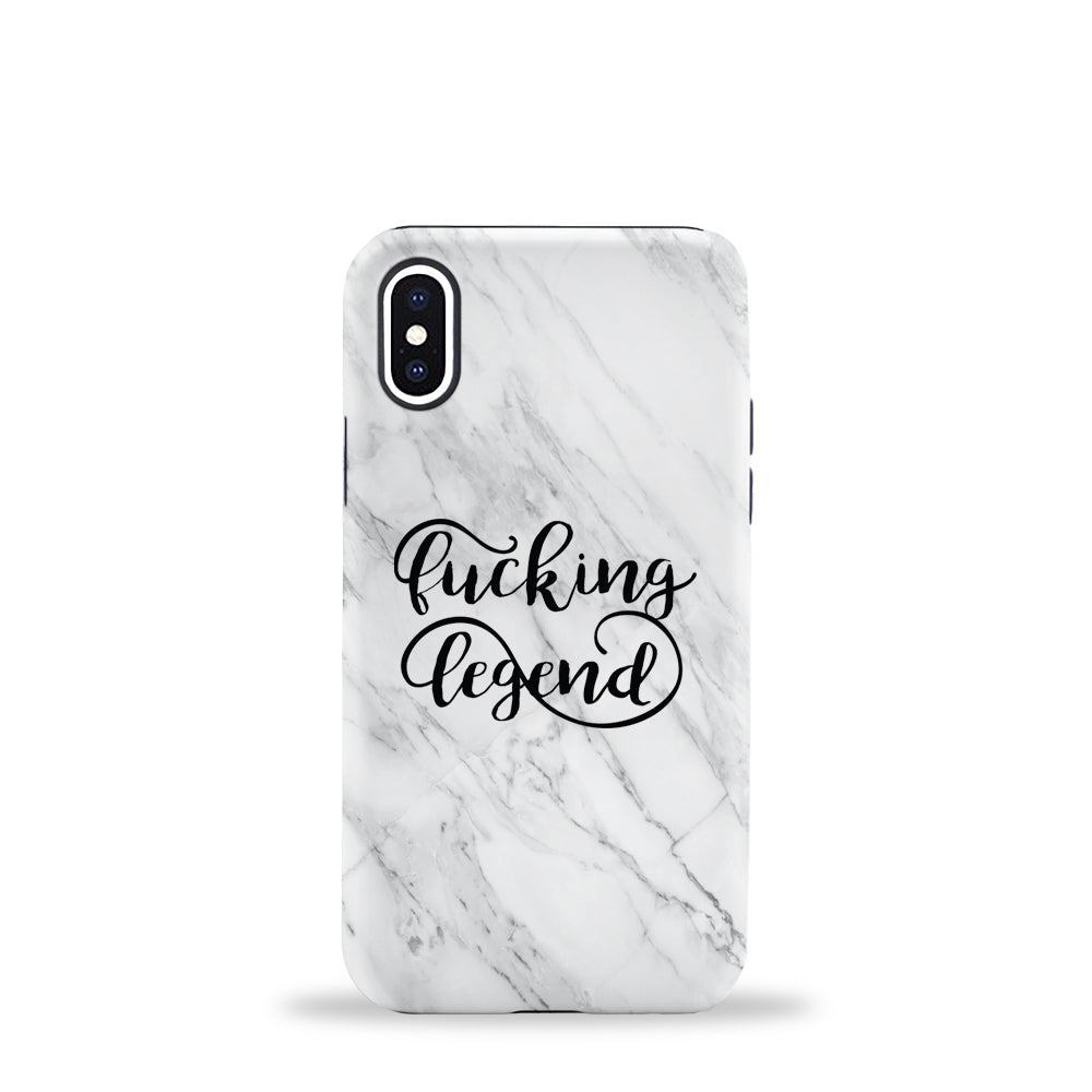 Fucking Legend Marble Phone Case