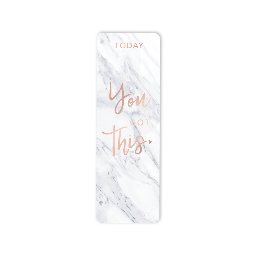 Marble Bookmark You Got This
