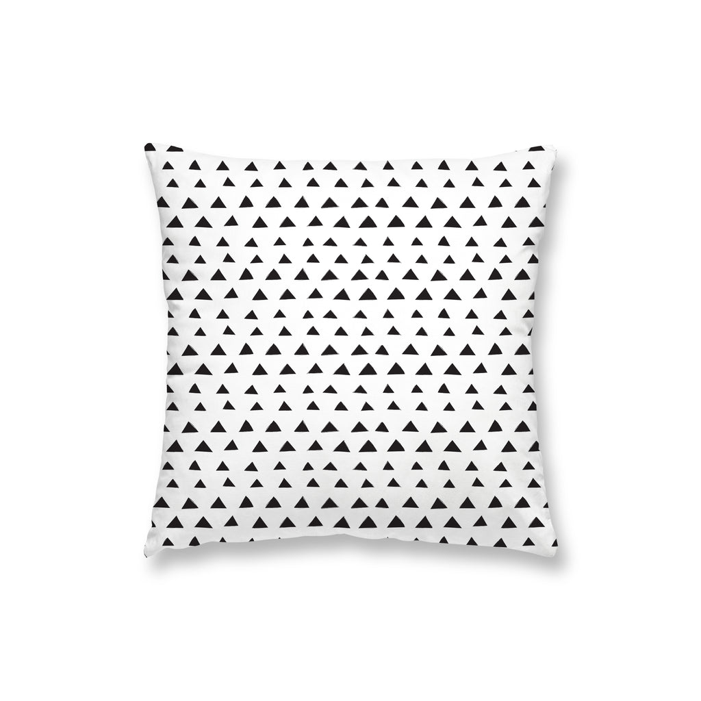 Black Triangles Pillow