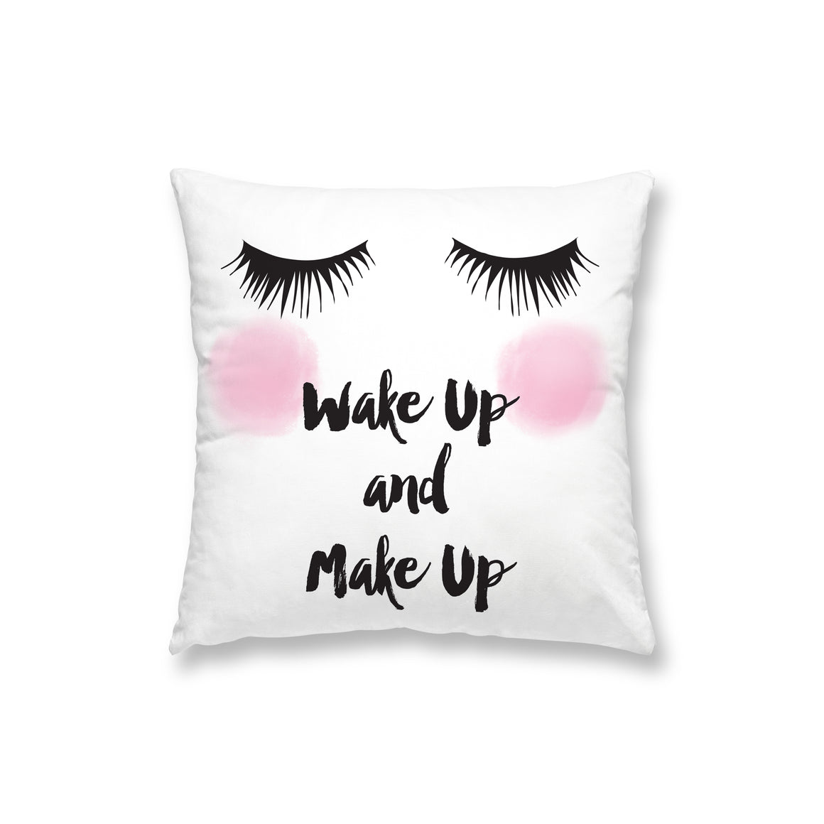 Wake Up Make Up Pillow
