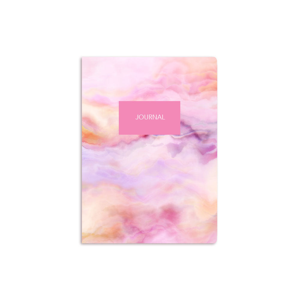 Pink Clouds Notebook Personalised