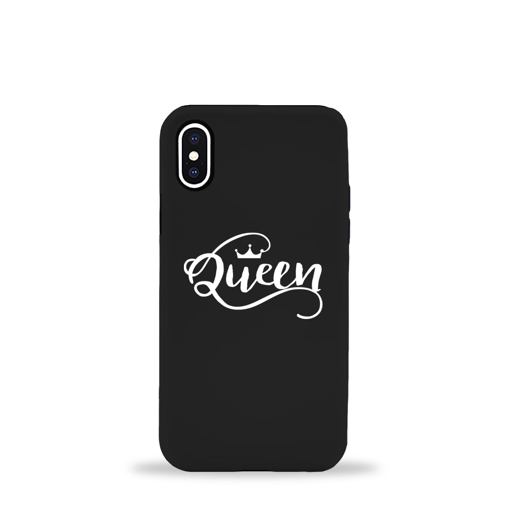 Queen Black Phone Case