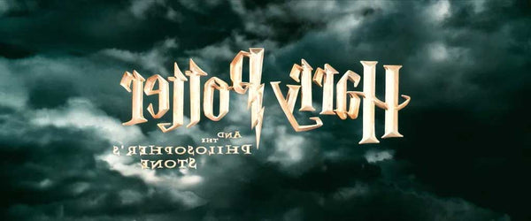 Harry Potter Title Flipped