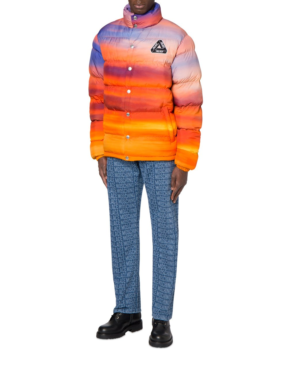 Palace Moschino Sunset down jacket