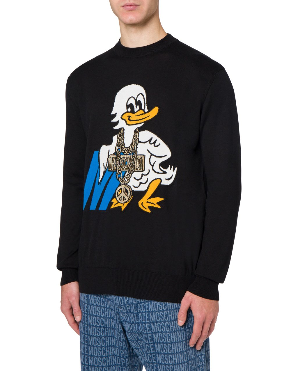 Palace Moschino cotton pullover