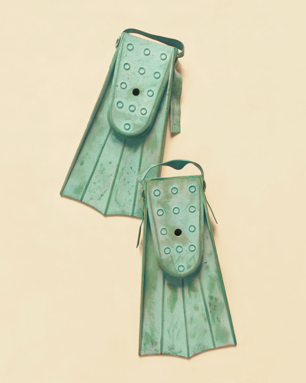 Vintage Swim Fins Artwork