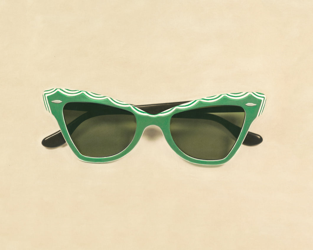 Vintage Ray Ban Sun Glasses Artwork