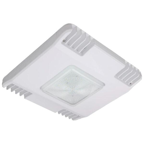 LED Petroleum Canopy Light V-1 Series | 150Watt | 20221Lm | 5700K | White housing - nothingbutleds.com