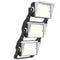 LED Stadium Light | 900Watt | 144000 Lumens | 5000K | Stackable Asymmetric G4 Lense | Flood Light | ETL Listed | Black housing