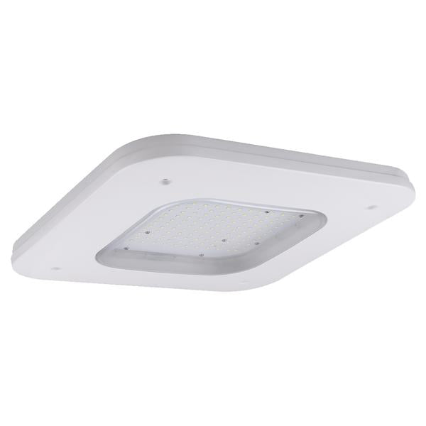 LED Petroleum Canopy Light Yale Series | 150Watt | 18750Lm | 5700K | White housing
