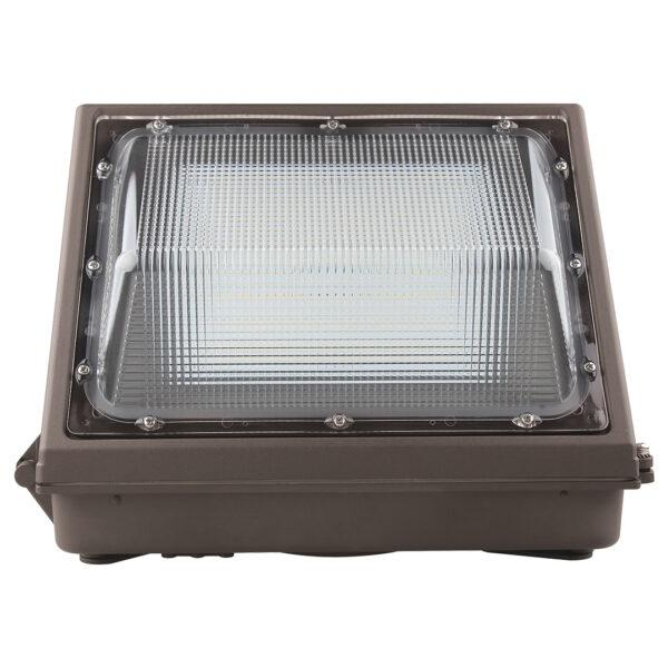 LED Wall Pack KLM Series | 55Watt | 7122Lm | 5000K | Photocell | Bronze housing - nothingbutleds.com