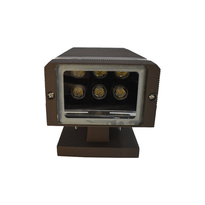 LED Wall Pack | 12 W | 1200 Lumens | 3000 K | ETL Listed | Pack of 2 - nothingbutleds.com