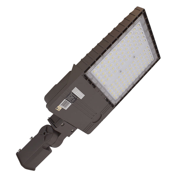 LED Area Light PK Series | 320Watt | 42945Lm | 5000K | Slip Fitter Mount | Bronze housing