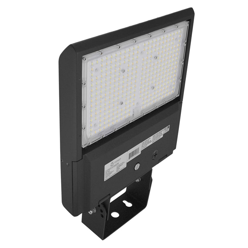 LED Area Light Bear Series | 150Watt | Adjustable Wattage 100W-120W-150W | 20000Lm | Adjustable CCT 4000K-5000K-5700K | Yoke Mount | Black housing
