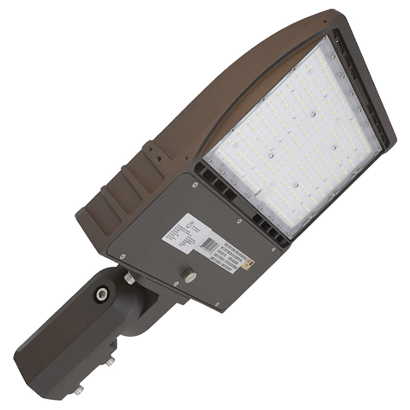 LED Area Light | 200Watt | 25000 Lumens | 5000k | Slip Fitter Mount |  Bronze Housing | i9 Series | Led Parking Lot Light | Led Street Light