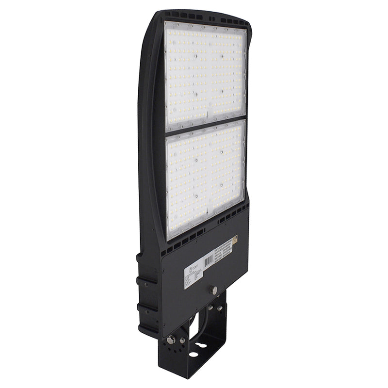 LED Area Light | 300Watt | 39600 Lumens | 5000k | Yoke Mount | Black Housing | i9 Series | Led Parking Lot Light | Led Street Light