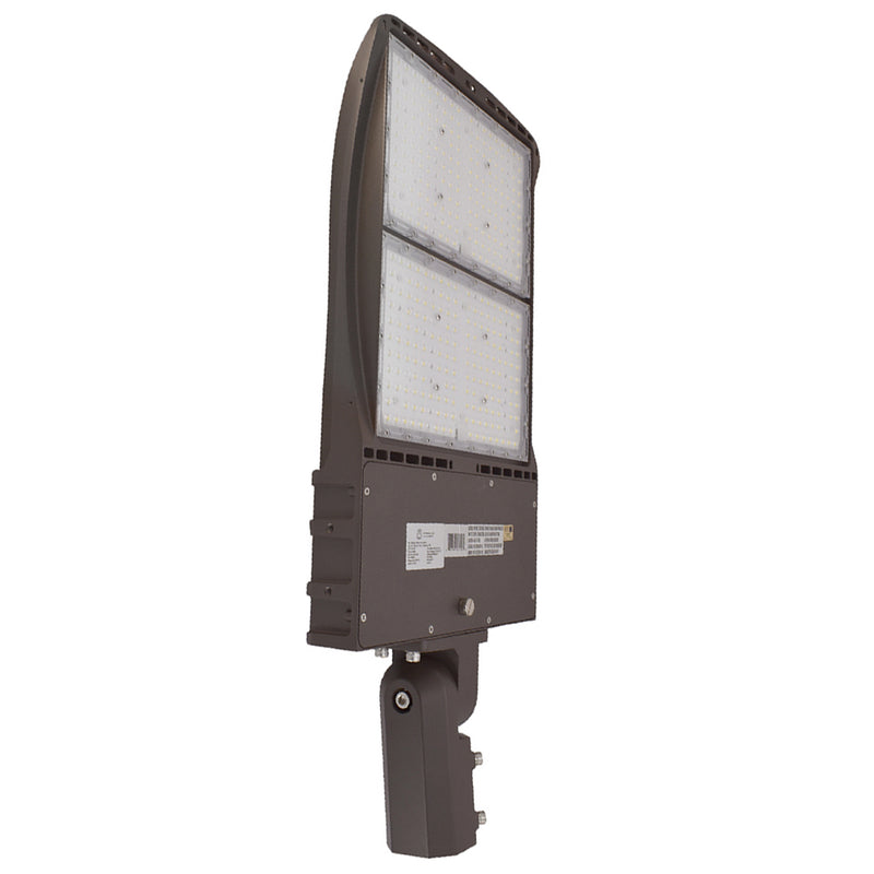 LED Area Light | 300Watt | 39600 Lumens | 5000k | Slip Fitter Mount | Bronze Housing | i9 Series | Led Parking Lot Light | Led Street Light