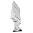 LED Area Light | 300Watt | 39600 Lumens | 5000k | Straight Arm Mount | White Housing | i9 Series | Led Parking Lot Light | Led Street Light