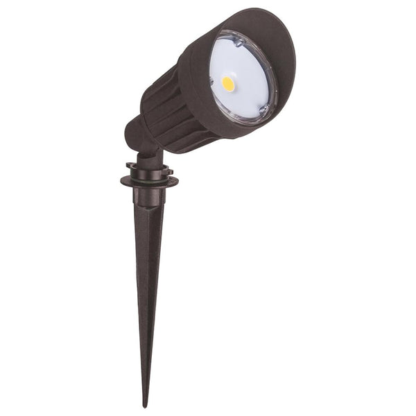 LED Landscaping Light | 10Watt | 800Lm | 3000K | Ground Stake Mount | Brown housing | Boise Series | Pack of 4