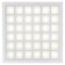 LED Designer Troffers Pixel Square Series | 2X2 | 40Watt | 5000Lumens | 5000K | Pack of 6