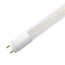 LED T8 Tube Light PG Series | 4ft | Type B | Double Ended Power | 18Watt | 2630Lumens | 6500K | Clear Lens | Pack of 30