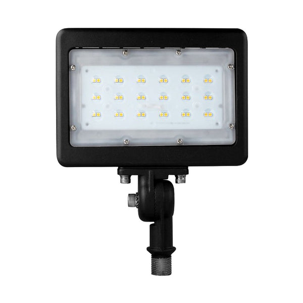 LED Flood Light ZOHO Series | 30Watt | 3819Lm | 5000K | Knuckle Mount | Black housing - nothingbutleds.com