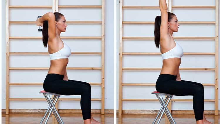 fit woman exercise