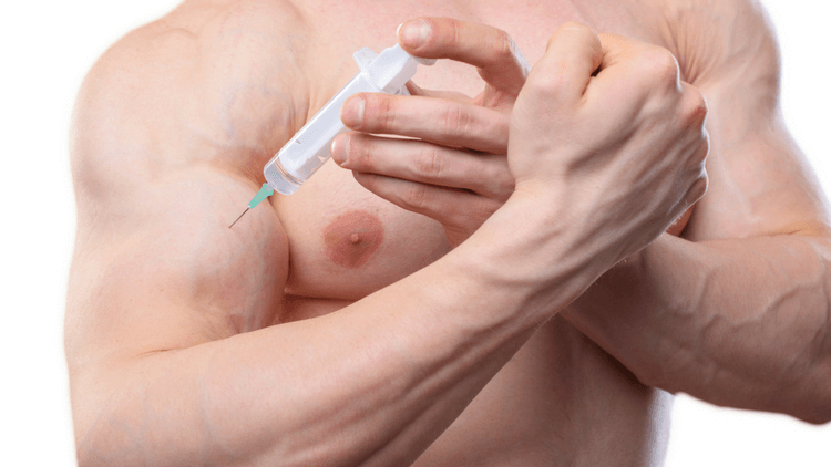 Injecting growth hormone