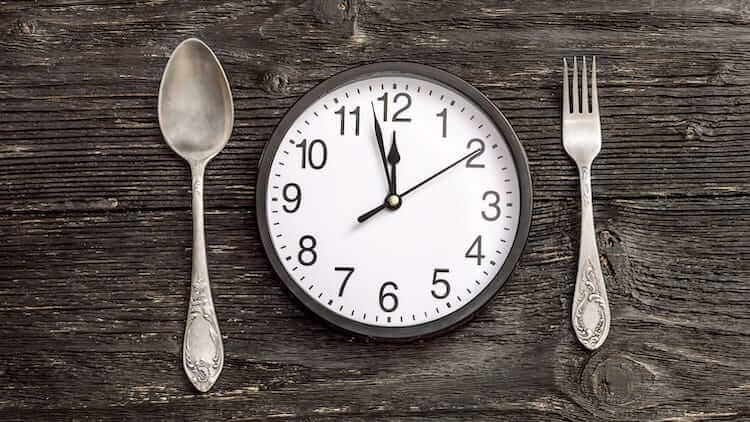 workout meal timing