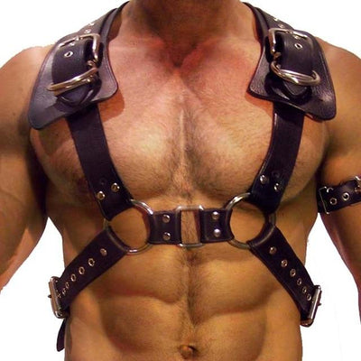 Chest Leather Harness - Mr JOCKS - Shop Now