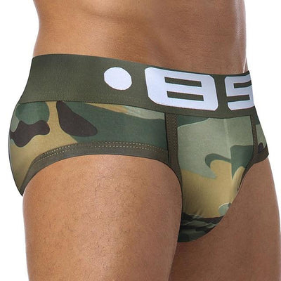 85 COLLECTION JOCK BRIEFS LIGHT GREEN - OH MY SLIP