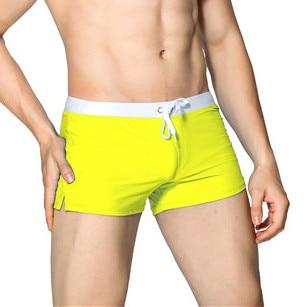 Basic Swimtrunks Yellow - Mr JOCKS