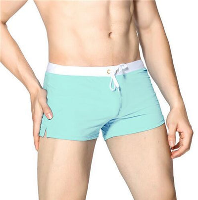 Basic Swimtrunks Cyan - Mr JOCKS